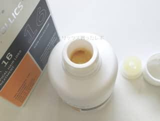 フォリックスFR16の中身の液体画像